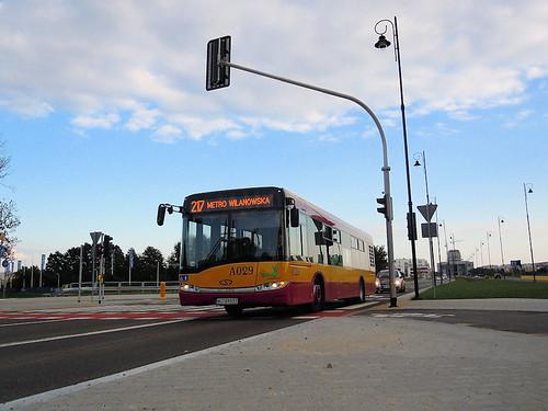 "Solaris Urbino 12III, #A-029, ""Mobilis"" Mościska Dept Warsaw"