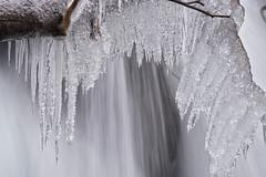 Sunwapta Icicles (Glen Randall Photography) Tags: waterfall winter icicles longexposure sunwapta alberta britishcolumbia jasper banff nationalpark