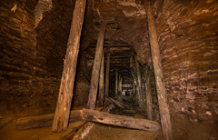 Mine (Yami-Photography) Tags: underground untergrund bergbau alt mine frankreich lost canon eos 70d 1022mm abandonend untertage altbergbau uverlagerung lzb