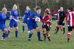Altrincham LFC vs Stockport County LFC - December 2016-155 (MichaelRipleyPhotography) Tags: altrincham altrinchamfc altrinchamlfc altrinchamladies alty amateur ball community fans football footy header kick ladies ladiesfootball league merseyvalley nwrl nwrldivsion1south nonleague pass pitch referee robins shoot shot soccer stockportcountylfc stockportcountyladies supporters tackle team womensfootball