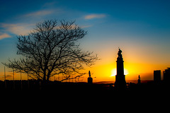 DSC_7874.jpg Plymouth Hoe - monuments (Bill G Plymouth) Tags: monuments drake hoe plymouth sunset tree war memorial