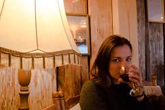 sippin (sansanta.kre) Tags: wine girl warm mood
