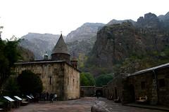 Geghard Overview, Armenia (Marianna Gabrielyan) Tags: geghard armenia church monastery historic building monument architecture christianity canoneosdigitalrebelxti canonefs1855mmf3556isusm
