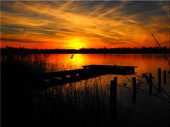 The  Sunset  today (Ostseetroll) Tags: deu deutschland geo:lat=5403523113 geo:lon=1069818655 geotagged pönitzamsee scharbeutz schleswigholstein pönitzersee lakepönitz sonnenuntergang sunset wolken clouds spiegelungen reflections