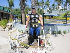 STRENGTH (PINOY PHOTOGRAPHER) Tags: matnog sorsogon bicol mighty thor statue bicolandia luzon philippines asia world
