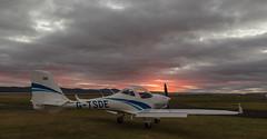G-TSDE Aquila, Dundee (wwshack) Tags: a211 aquila aquilaa211 dnd dundee egpn night riverside scotland taysideaviation gtsde