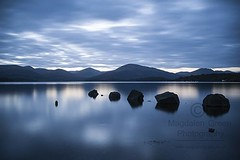 In the Still of the Night - Cool Blue  - Zen Tranquility - Loch Lomond - Scotland (Magdalen Green Photography) Tags: inthestillofthenight coolblue zentranquility lochlomond scotland scottish loch magdalengreenphotography pretty calmnaturescene longexposure blue mountains 2769