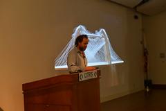 2016 ATC Reuben Margolin (Berkeley Center for New Media) Tags: bcnm berkeleycenterfornewmedia atc arttechnologyandculturecolloquium reubenmargolin sculpture wave kinetic design art math
