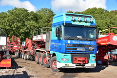 Allelys Heavy Haulage (Jack Westwood) Tags: allelys allelyscrane allelysman allelysgirderframe allelysheavyhaulage daf heavyhaulage heavylift goldhofer abnormalload truck trailer