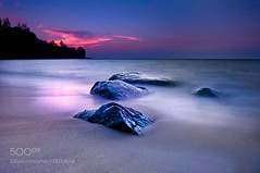 Untitled (ABulimia159) Tags: sea sunset clouds thailand phuket sand storm romance pimk d300s tokina hitech