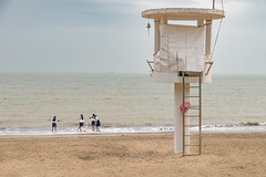 A calm day at the ocean (Markus Lehr) Tags: beach seaside ocean southchinasea watchtower china markuslehr
