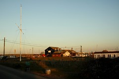 Rye Harbour (My photos live here) Tags: rye harbour buildings sky nature reserve east sussex england canon eos 1000d river rother english channel sea coast countryside autumn