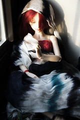 Sunrise Meditation (TerraNoir7) Tags: sleeping ball doll ns bjd resin scar fairyland abjd joint breakaway minifee