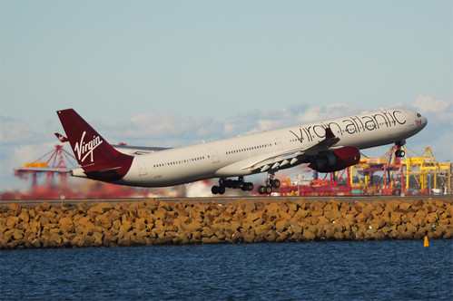 "G-VEIL, A340-642, VS201, Virgin Atlantic ""Queen of the Skies"""