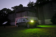 Volly Explorer (SensoriumStudios) Tags: camp green ford truck lights explorer hero montauk volunteer ems strobes volly