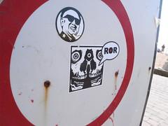 Arrex X ROR (Hot Rod(R)) Tags: street england art brighton heart stickers combos stickerbomb stickerbombs arrex