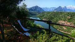 Relaxing panorama dell'agriturismo Neulè (lele orpo) Tags: river sardinia gh1 cedrino neulè ecoparco