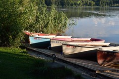 a quiet evening (picturesbywalther) Tags: lake boats boot see boat lakes boote aeschisee