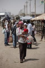 Relief effort for Syrian refugees in Kawrgosk refugee camp, Irbil, Northern Iraq.  21-23 August 2013 (HH nsani Yardm) Tags: iraq erbil refugeecamp irbil northerniraq syrianrefugees kawrgosk