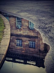 REFLECTION (SteveH1972) Tags: york reflection water puddle yorkshire canon600d