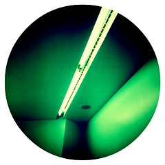 feminometry (#mr. X) Tags: light abstract green bathroom geometry circular cubism femaleform flickrandroidapp:filter=none