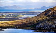 North Uist (OutdoorMonkey) Tags: water landscape coast scotland coastline harris uist waterscape fishfarm outerhebrides lochmaddy northuist eaval liadeas locheuphort