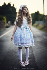 Lost Lolita (Storm Gunter) Tags: carnival sky girl canon dress 85mm lolita sugary