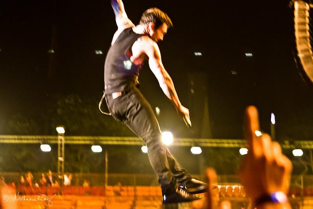 Adam Levine - F1 Singapore