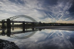 It's all about the Sky (Explored14/10/13) (Jeffpmcdonald) Tags: bridge runcorn widnes rivermersey silverjubileebridge britanniabridge mygearandme mygearandmepremium mygearandmebronze mygearandmesilver mygearandmegold ringexcellence dblringexcellence tplringexcellence ethelfledabridge flickrstruereflection1 flickrstruereflection2 rememberthatmoment1 rememberthatmoment2