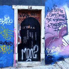 DEDICATED HoF, Lavra (Ghost Hunter Frankfurt) Tags: streetart portugal graffiti lisbon gau lavra