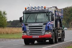 D & I Rutherford Dornoch Scania MX06 NRV (Kilmachalmag) Tags: tipper trucks sutherland a9 lorries clashmore