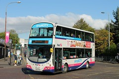 First Glasgow - SF07 FDY (37186) (MSE062) Tags: bus scotland eclipse volvo glasgow first double wright gemini decker fdy 37186 sf07 b9tl sf07fdy