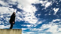 germain (Max.photographies) Tags: boy sky man nokia high horizon dream teen ciel n8 hauteur