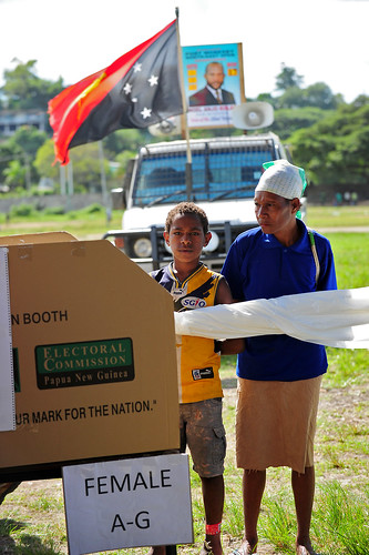 PNG 2012 Elections by DFAT photo library, on Flickr