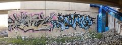 Panorama 48 v2 (collations) Tags: ontario graffiti sen flown