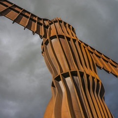 The Angel of The North (Gordon Haws) Tags: gateshead anthonygormley tyneandwear theangelofthenorth steelsculpture loweighton publicscupture contemporaryscupture ne87ub