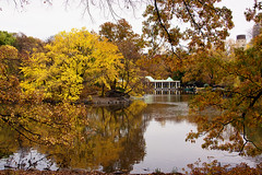 The Boathouse (JMS2) Tags: nyc autumn fall water landscape centralpark manh