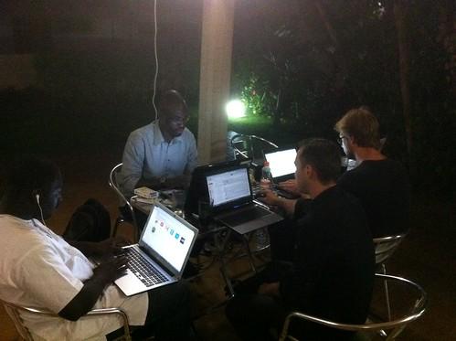 Préparation du forum InnovAfrica Abidjan 2013