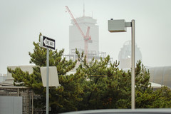 IMG_6224 (kz1000ps) Tags: november tower wet rain boston skyline architecture construction university realestate wind cloudy massachusetts center dormitory development prudential northeastern grandmarc
