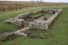 Brocolitia Mithraic Temple (raggi di sole) Tags: england archaeology field wall temple countryside view roman fort walk northumberland empire vista remains hadrian romanempire hadrianswall emperor mithras mithraeum mithraictemple carrawburgh brocolitiaromanfort northditch maggiesdeneburn