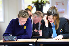 History made as Wellington Academy and Wellington College students prepare together for GCSEs (Wellington College) Tags: students classroom study academy academic coeducation gcse wellingtoncollege academies