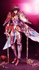 Andromeda Shun (possiblezen) Tags: ex phoenix saint statue greek stand dragon display anniversary stage pegasus greece andromeda 10th cloth athena myth seiya shun saori kido cygnus ikki shiryu hyoga 2013
