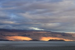 Sunrise on the Salar de Antofalla
