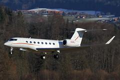 Gulfstream G650, N44KJ, National Air Service (www.il-photography.ch) Tags: switzerland airport air national delivery service bern g6 berne gulfstream brn belp gvi belpmoos lszb g650 n44kj