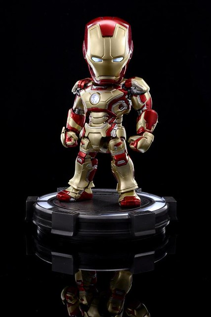 HEROCROSS  Hybrid Metal Figuration #010 IRON MAN 3 – Iron Man Mark 42