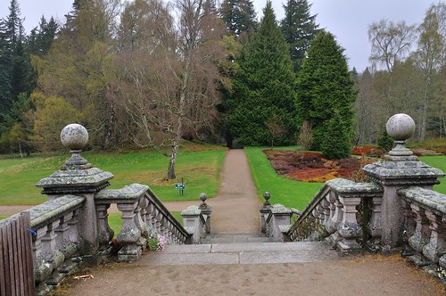 Balmoral Castle grounds
