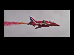 on his own (john from Canterbury) Tags: flying display hawk aircraft jet formation eastbourne airborne redarrows raf rafredarrows hawkaircraft