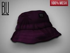 "[BUC] ""Lean"" Brixton Bucket Hat (Bhad Craven 'Bad Unicorn') Tags: life urban london fashion bucket clothing mesh bad hats sl made secondlife second 100 unicorn exclusive bu craven buc bhad vision:car=0587"