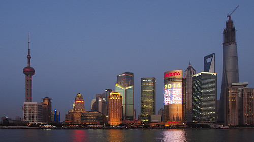Shanghai Skyline from the Bund by Wilson Hui, on Flickr