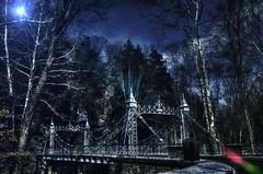 Silver Bridge.. (Bill Humason) Tags: winter ohio sky cold colors woods nikon youngstown millcreekpark milcreekpark 1685mmnikonlens nikond7100